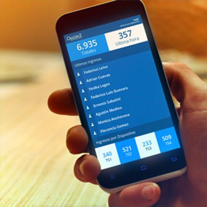 Estadísticas Online en tiempo real